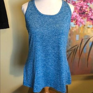 Like New Nike Blue Exercise Tank Top Sz. Lg.